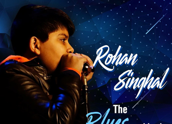 The youngest artist ever to perform at Mahindra Blues